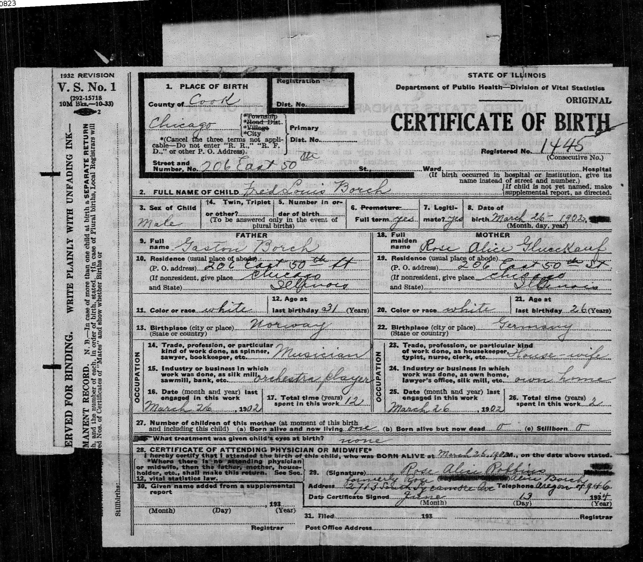 Pvii affinity csshtml5 template layout 2 frederick borch birth certificate aiddatafo Gallery